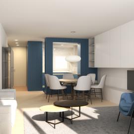 Infografia 3D de una vivienda en Palamós
