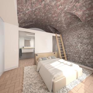 Proyecto 3D de interiorismo de una vivienda plurifamiliar en Girona