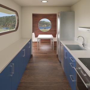 Imagenes 3D de propuesta de bungalow en Sant Antoni de Calonge