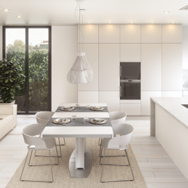 Proyecto 3D – design studio and interior design of a kitchen – vivienda situada en Peralada